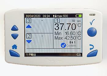 eCelsius monitor - body temeperature measurment